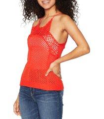 bcbgeneration crochet sleeveless top