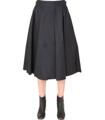 mm6 maison margiela flared skirt