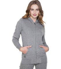 chaqueta basic casual gris everlast