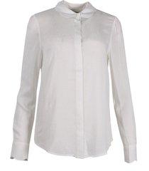 another label blouse d46-120106 ecru