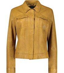 slim-fit biker jacket