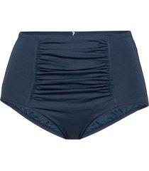 high waisted pant bikinislip blauw seafolly