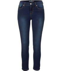 jeans super elasticizzato 7/8 (blu) - john baner jeanswear