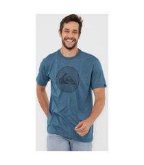 camiseta quiksilver informal disco azul