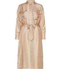 emanuelle dress maxiklänning festklänning beige lovechild 1979