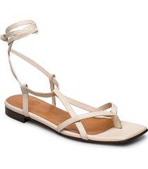 sandals 14102 shoes summer shoes flat sandals creme billi bi
