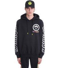 barrow sweatshirt in black cotton