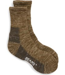men's beams plus outdoor crew socks, size one size - green