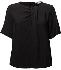 fatima blouses short-sleeved zwart dagmar