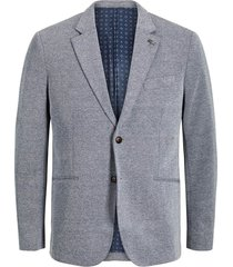 jack%jones premium jprsimon blazer noos chambray blue/slim fit   freewear geruit