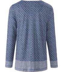pyjama katoen en modal van rösch pure blauw