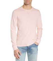 men's billy reid variegated regular fit crewneck t-shirt, size small - pink