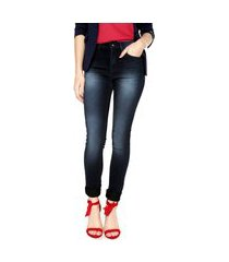 calça jeans calvin klein jeans jegging estonado azul