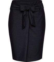 amy skirt kort kjol blå lulu's drawer