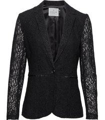 jacket ls blazer colbert zwart rosemunde