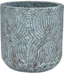 doniczka osłonka azzurro 20x20cm, beton