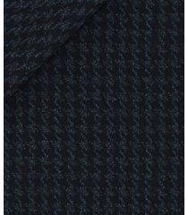 giacca da uomo su misura, loro piana, blu macro pied de poule, autunno inverno | lanieri