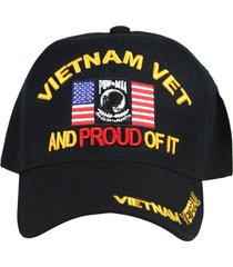 u.s. military cap hat vietnam veteran army marine navy air force (v.vet-and prou