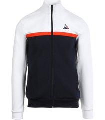 sweater le coq sportif essentiels saison full zip