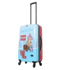 "halina aunty acid trip 24"" hardside spinner luggage"