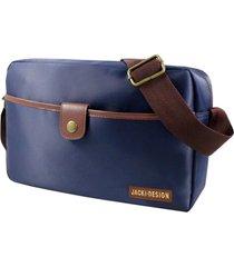 (for men) bolsa transversal masculina azul