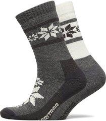 rusa wool sock 2pk lingerie socks regular socks grå kari traa