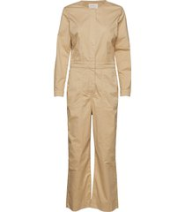 piala ju jumpsuit beige part two