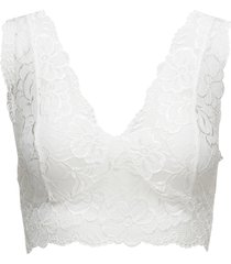 glaze top lingerie bras & tops bralette and corset vit cream
