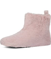 fitflop women's furry slipper booties women's shoes