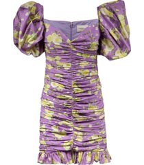 giuseppe di morabito floral print fitted dress
