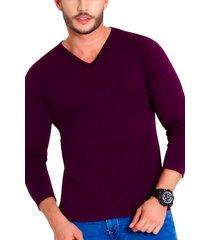camiseta morado cachet