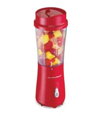 hamilton beach personal creations blender with travel lid