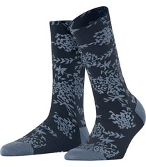 falke willowy floral jacquard knit socks, size 35 in stonewash at nordstrom