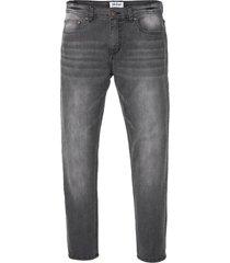 jeans elasticizzati con t-400 slim fit straight premium (grigio) - john baner jeanswear
