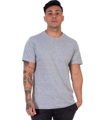 camiseta lucas lunny t shirt gola redonda cinza - cinza - masculino - algodã£o - dafiti