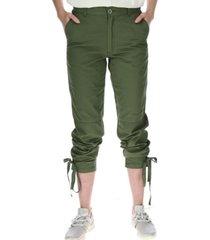 pantalon cargo crop pant verde cat