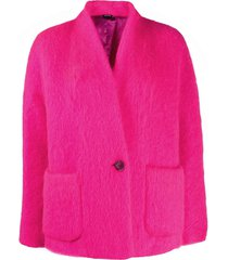 aspesi short coat - pink