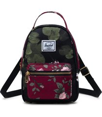herschel supply co. nova crossbody backpack - black