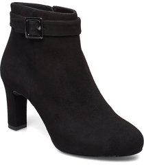 nitra_ks shoes boots ankle boots ankle boots with heel svart unisa