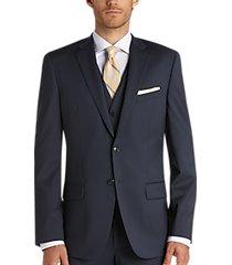 joseph abboud blue slim fit suit separates coat