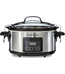 hamilton beach programmable stay or go 6 qt. slow cooker