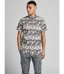 overhemd korte mouw jack jones camisa estampada hombre jack jones 12189759