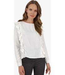 blusa juanita blanca jacinta tienda