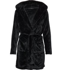 decoy short robe w/hood morgonrock svart decoy