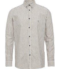 simon linen shirt overhemd casual grijs les deux