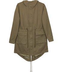 matt & nat milin vegan utility jacket, olive