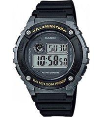 reloj casio para hombre ref. w-216h-1b