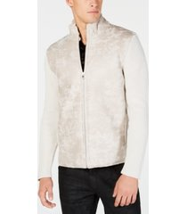 i.n.c. men's textured sweater jacket, created for macy's