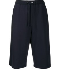 zucca loose track shorts - blue