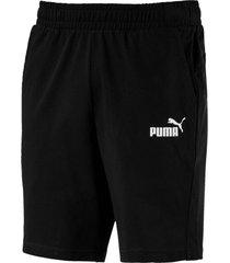 pantaloneta ess jersey short puma hombre 851994 01 negro